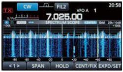 IC-7300 Spectrum