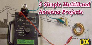Simple HF Multiband Antenna