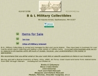 BL Military collectibles