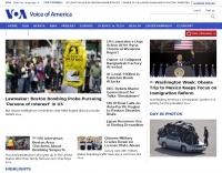 DXZone VOA News - Voice of America Homepage