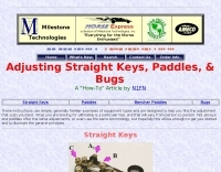 Adjusting Morse Keys and Paddles - Resource Detail - The