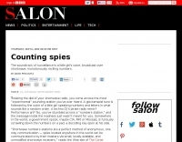 Salon People  Counting spies