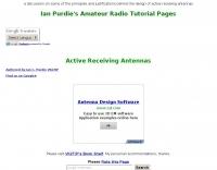 Active receiving antennas