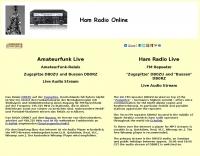 Ham Radio Audio Stream