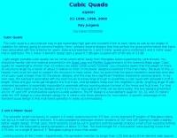 Cubic Quad