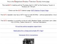 BATS homepage