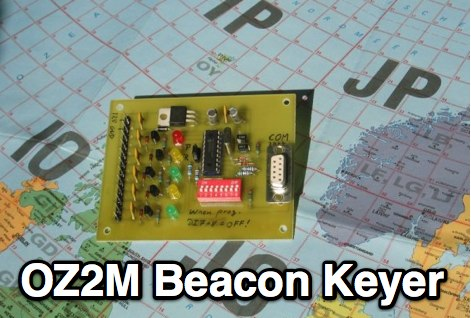 OZ2M - Beacon Keyer