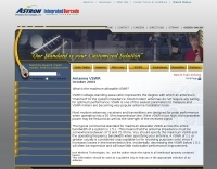SWR: Maximum allowable VSWR