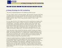 A Sleep Strategy for DX Contesting