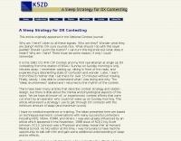 DXZone A Sleep Strategy for DX Contesting