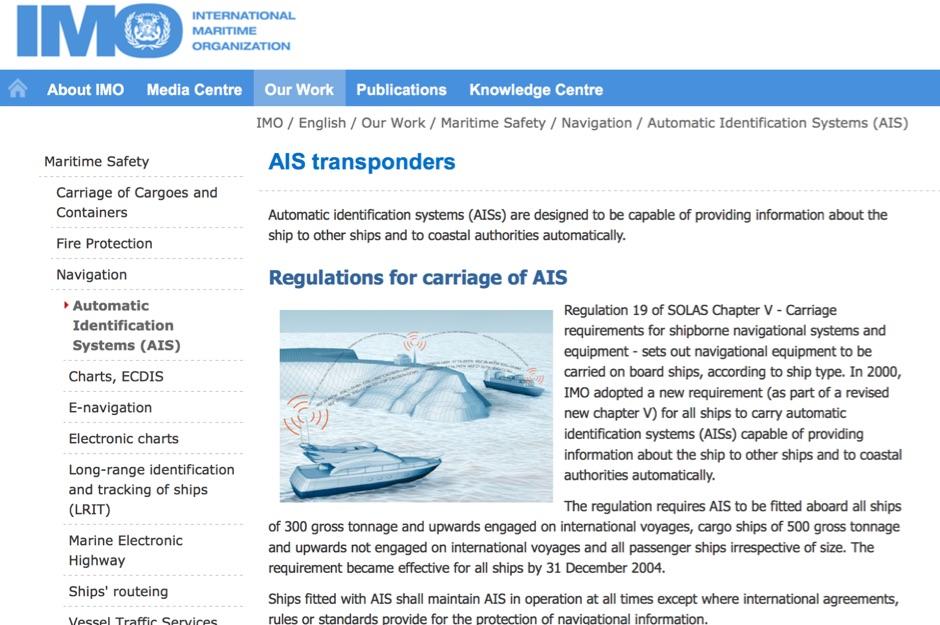 DXZone Automatic Identification Systems (AIS)