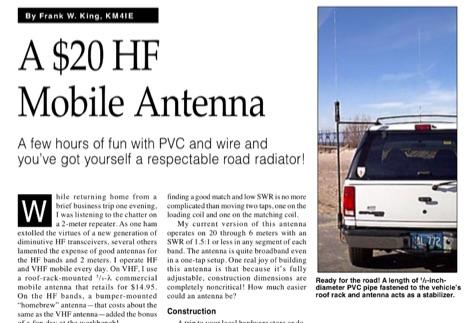 DXZone A $20 HF mobile antenna