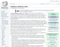 Software-defined radio by Wikipedia