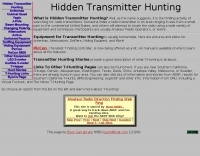 Hidden transmitter hunting