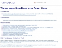 DXZone Broadband over power lines