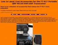 FT-817 Accessories