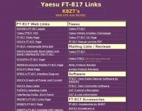 DXZone K8ZT's FT 817 resources