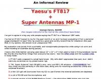 DXZone N2APB Yaesu FT-817 review