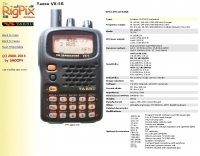 DXZone Rigpix database - Yaesu - VX-5R