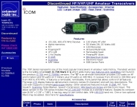 ICOM IC-706 mark IIG