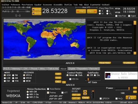 ARCS II - TS-2000 control