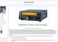 Kenwood TS-2000: 12 khz IF Output
