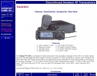 Yaesu FT-100 specifications