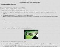 Modifications for the Yaesu FT-100