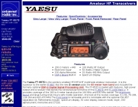 Yaesu FT-857D specifications