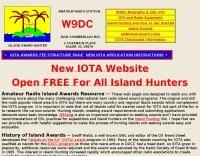 DXZone W9DC IOTA and lighthouse awards