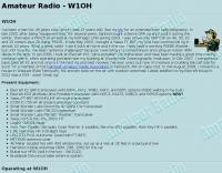 W1OH ham radio station