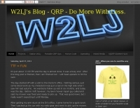 DXZone W2LJ's blog - qrp and amateur radio