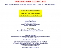 DXZone Weekend ham radio class