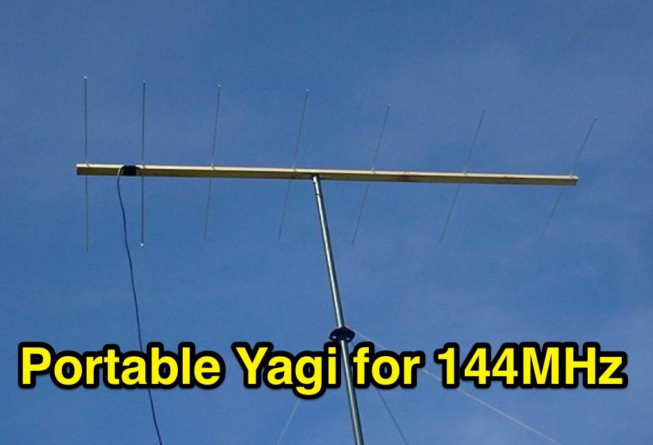 DXZone Portable Yagi for 144MHz