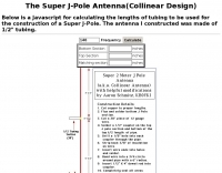 Design your Own Super J Pole