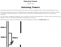 Detuning Towers