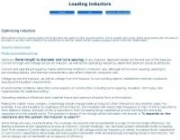 Optimizing Inductors