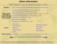 DXZone Balun Information
