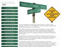 DXZone K0BG's ham radio mobile operator web site