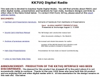 KK7UQ -  Digital Radio