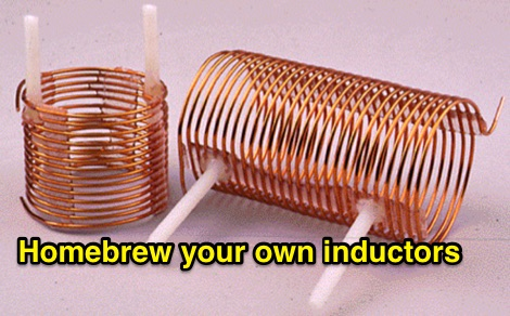 DXZone Homebrew your own inductors