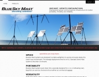 DXZone BlueSky Mast