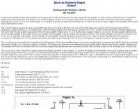 DXZone Simple Electronic Keyer