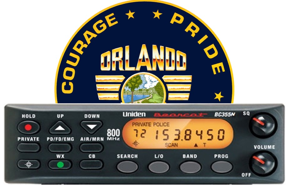 Orlando Florida live scanner
