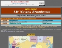 LW Navtex Broadcasts