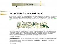 RSGB GB2RS News casts