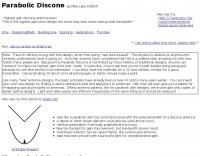 DXZone Parabolic Discone antenna