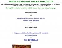 DXZone 50MHz-Transverter 10m/6m from DK7ZB
