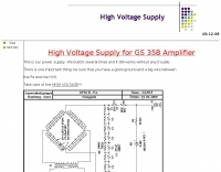 Hight voltage power supply
