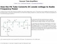 DXZone Vacuum Tube Amps